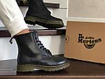 Женские зимние ботинки Dr. Martens 1460 (черные), фото 5