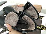 Женские зимние ботинки Dr. Martens 1460 (черные), фото 6
