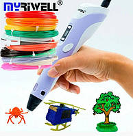 3D Ручка My Riwell 3D Pen LCD PRO с ЖК-дисплеем, фото 1