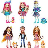 Enchantimals Набор из 6-ти кукол Природные Друзья Natural Friends Collection Doll