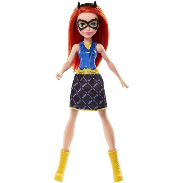 DC Super Hero Girls Супергерои Бэтгёрл гимнастка FRF84 Gymnastics Batgirl Doll