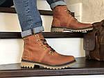 Мужские зимние ботинки Timberland (кирпичный), фото 4