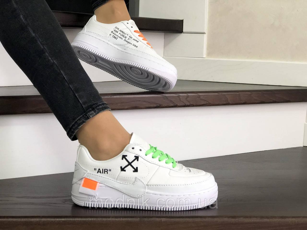 Женские кроссовки Nike Air Force 1 Jester XX (белые)