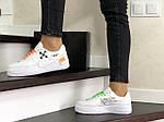 Женские кроссовки Nike Air Force 1 Jester XX (белые), фото 3