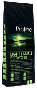 Профайн Лайт ягненок/картофель , гипоаллергенный корм для собак,3кг