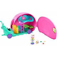 Enchantimals Домик на колесах Улитка кемпер GCT42 Slow-Mo Camper Vehicle Playset With Saxon Snail Doll, фото 1