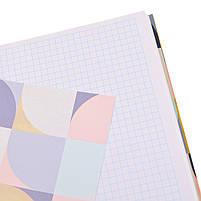 Блокнот 200*200/96 КЛ. 7БЦ Abstract YES код: 151505, фото 4