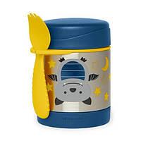 Skip Hop Zoo Детский термос кружка для еды Летучая мышь 252385 Bat Little Kid and Toddler Insulated Food, фото 1