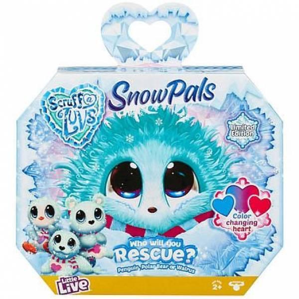 Little Live Питомец сюрприз няшка потеряшка Северные животные Snow Pals Scruff-a-Luvs plush mystery rescue pet