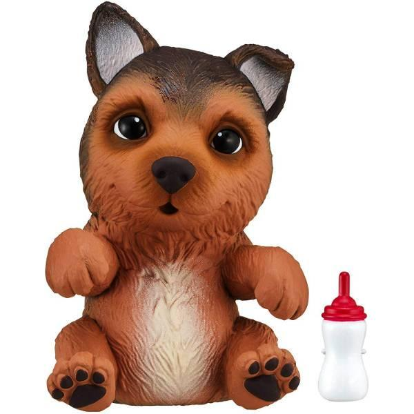 Little Live Pets OMG Интерактивный щенок собачка сквиш немецкая овчарка 28916 Shep German Shepherd Squishy
