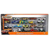Matchbox Подарочный набор из 20 машинок 20 Car Set
