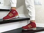 Женские зимние кроссовки New balance 1300 (красные), фото 4