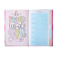 Блокнот-мотиватор YES Hello Neon серии You GO girl, 140 х 210 мм, 152 л.       код: 151575, фото 7