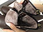 Женские зимние ботинки Dr. Martens 1460 (темно-коричневые), фото 3