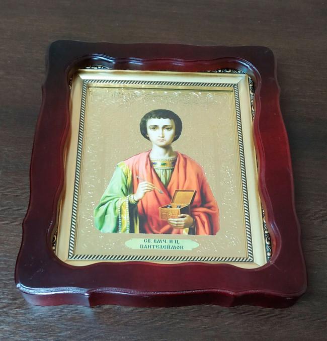 Икона Святой Пантелеимон - целитель 35х30см