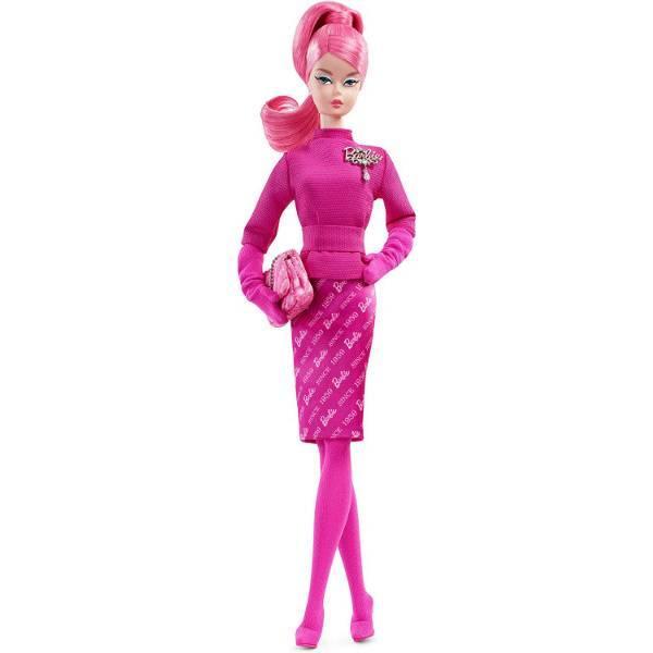 Barbie Барби Силкстоун в розовом FXD50 Silkstone Signature Proudly Pink Gold Label