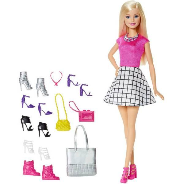 Barbie Барби обувь и аксессуары DMP10 Doll with Shoes and Accessories
