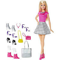 Barbie Барби обувь и аксессуары DMP10 Doll with Shoes and Accessories, фото 1