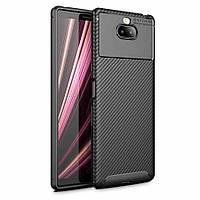 TPU чехол iPaky Kaisy Series для Sony Xperia 10 Plus Черный