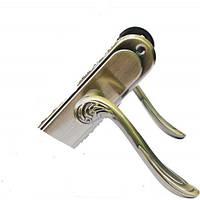 Ручка на планке  UNI lock 62мм UL62175 BK AB