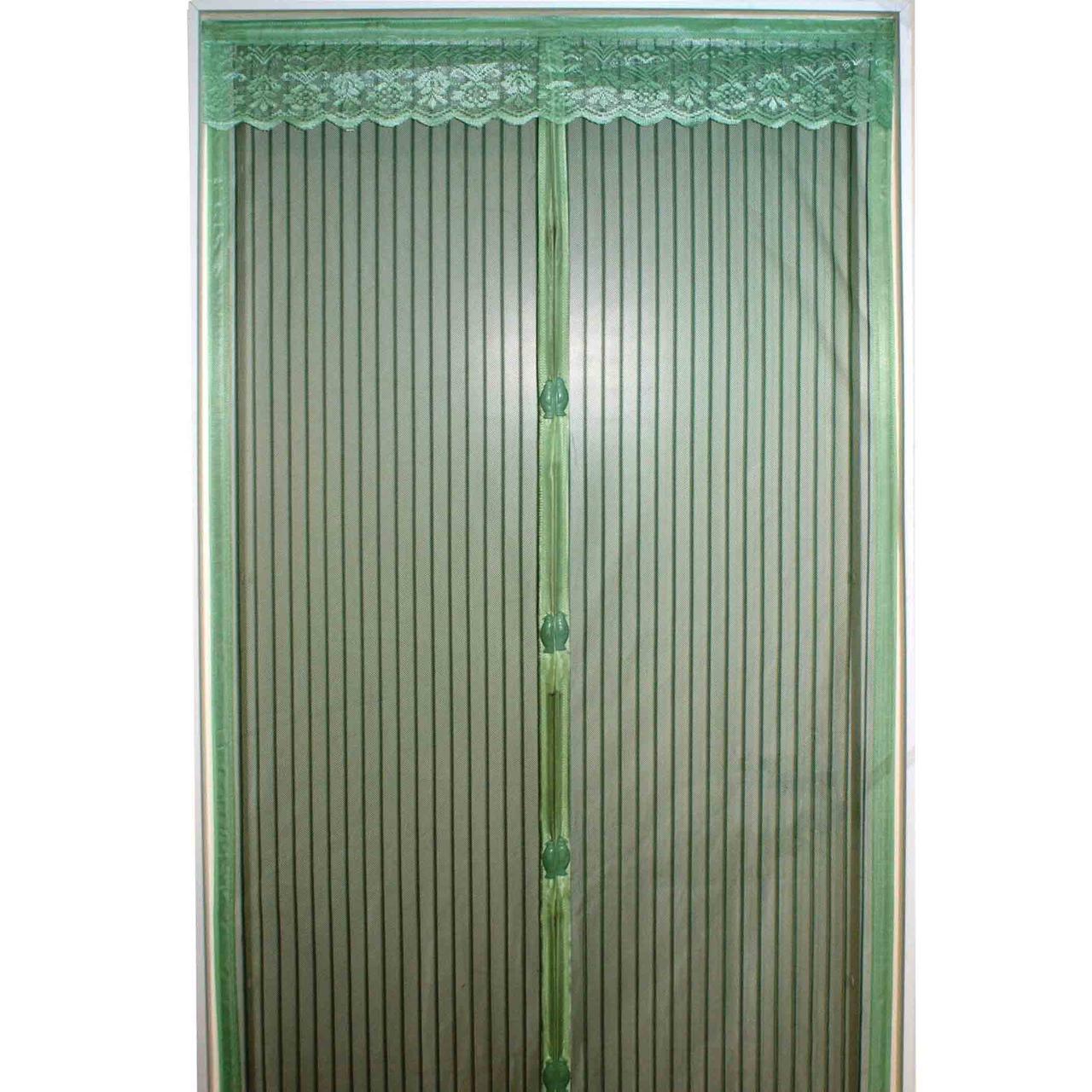Дверная антимоскитная сетка на магнитах 100*210 см Цвет Микс (Однотонные)