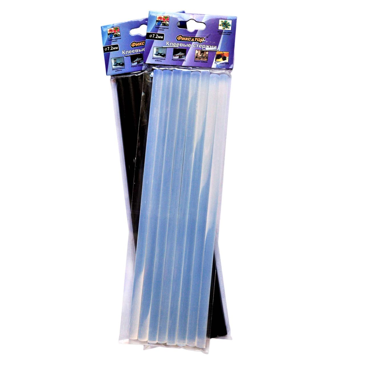 Клеевые стержни Фиксатор (Ф-7.2 длина 200мм) Упаковка 8шт