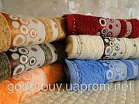 Комплект полотенец для лица (для бани, для сауны) DNZ Gulcan 6 100% cotton Puanli махра 6шт Турция