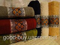 Комплект полотенец для лица (для бани) Cestepe Leopard 100% Vip cotton махра 6шт Турция