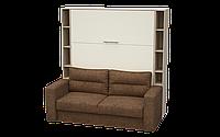 Шкаф-кровать/диван с консолью HELFER Дуб Сонома (HPN-V-160-05-07-05-01.270-R0L)