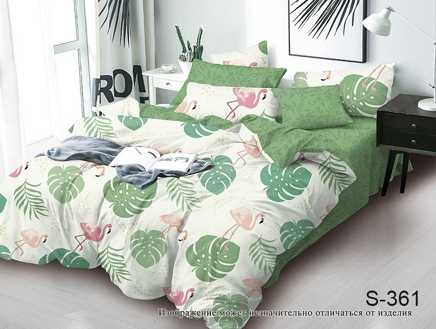 Двуспальный комплект постельного белья с компаньоном S361