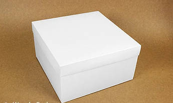 Подарочная коробка White 28х28х15 см