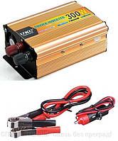 Преобразователь напряжения (инвертор) UKC SSK 300Вт DC/AC 12В-220В, выход USB 5В