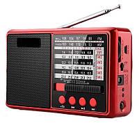 FM/AM/SW радиоприемник Ahma + MP3 (TF/USB), Hi-Fi динамик 5W, фонарик, Li-ion батарея, разъем для наушников, фото 1