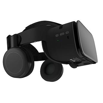 Очки шлем виртуальной реальности Bobo 3D VR Z6 с Наушниками и Пультом ДУ Bluetooth 110°