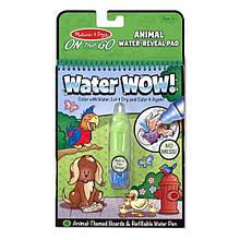 Волшебная водная раскраска изучаем Животных Melissa&Doug Water Wow