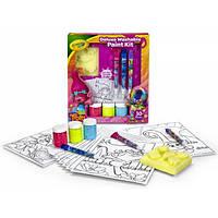 Crayola Набор для творчества Тролли со смываемыми красками Trolls Deluxe Washable Paint Kit