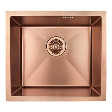 Кухонная мойка Imperial D4843BR PVD bronze Handmade 2.7/1.0 mm, фото 2