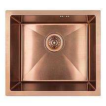 Кухонная мойка Imperial D4843BR PVD bronze Handmade 2.7/1.0 mm, фото 3