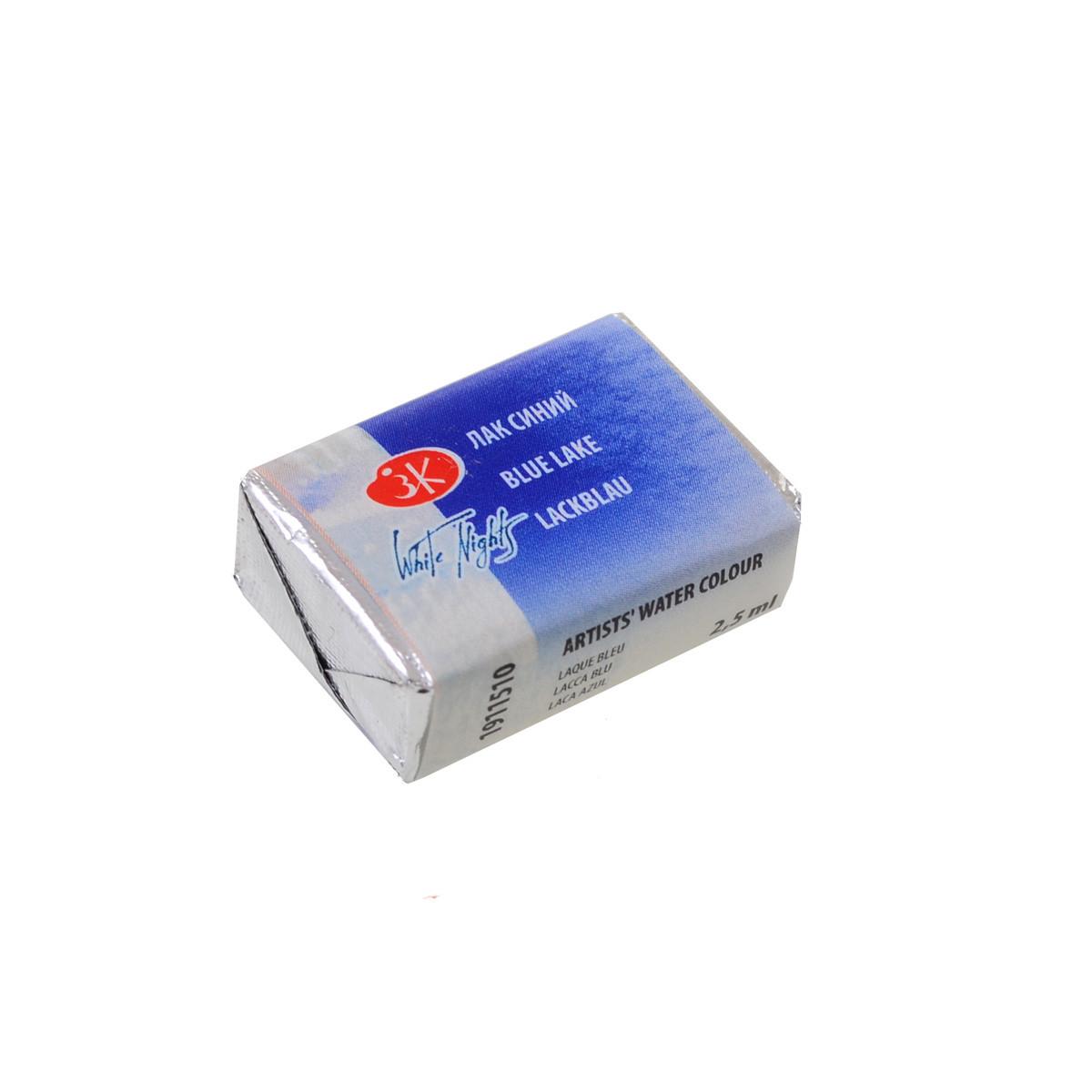 Краска акварельная КЮВЕТА, лак синий, 2.5мл ЗХК код: 351190, арт.завода: 1911510