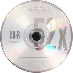 Диски CD-R MAXIMUS 700Mb 52x Bulk 50 штук