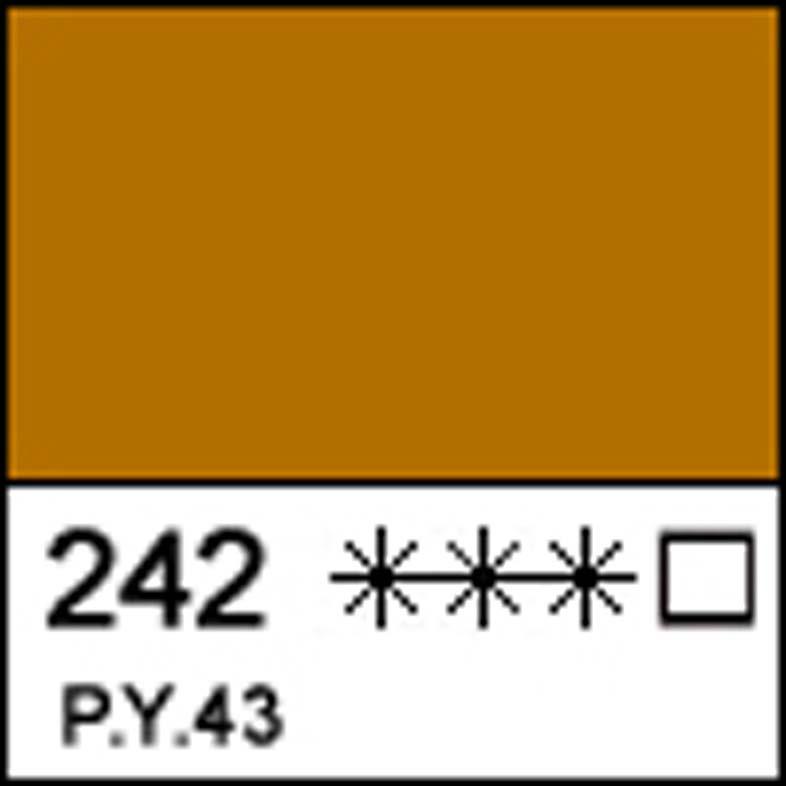 Краска масляная МАСТЕР-КЛАСС охра жёлтая Мецкар, 46мл ЗХК код: 351760, арт.завода: 1104242