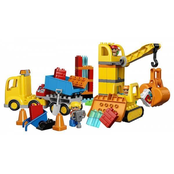 Lego Duplo большая строительная площадка Town Big Construction Site 10813 Best Toy