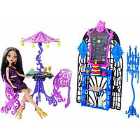 Monster High Кафе Клео Крик и Сахар Scream & Sugar Cafe Playset and Cleo de Nile Doll, фото 1