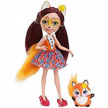 Enchantimals куколка с питомцем Фелиция лисичка Felicity Fox Doll