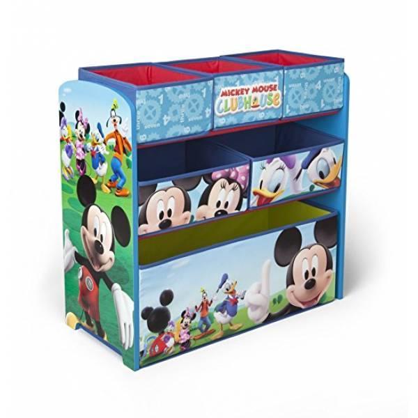 Delta Органайзер для игрушек с ящиками Микки Маус Children Mickey Mouse Clubhouse Multi Bin