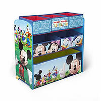 Delta Органайзер для игрушек с ящиками Микки Маус Children Mickey Mouse Clubhouse Multi Bin, фото 1