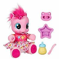 My Little Pony Интерактивная пони Пинки Пай Учимся ходить на русском Feature So Soft Pinkie Pie