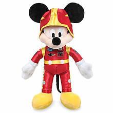 Disney Плюшевый Микки Маус в костюме гонщика 23 см Mickey Mouse Plush Mickey and the Roadster Racers Small 9