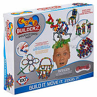 ZOOB Конструктор 100 деталей Inventors Kit Construction Set