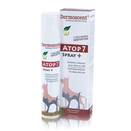 DERMOSCENT® АТОР 7® Spray спрей для кожи и шерсти при блошином дерматите и аллергии для котов 120г